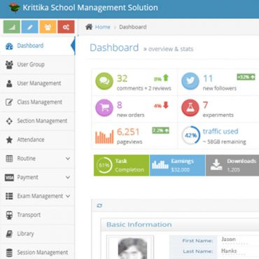 Krittika: School Management Software